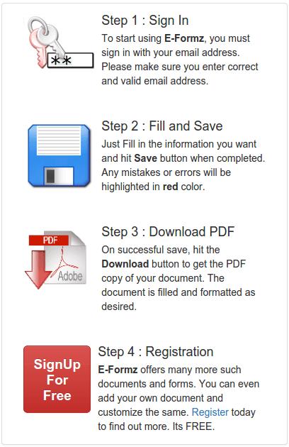 job application form pdf sample format online for free
